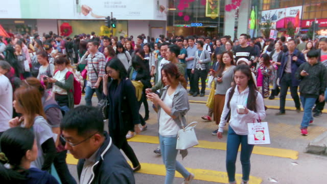 causeway bay - jacket stock videos & royalty-free footage