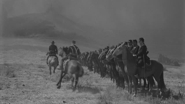 WS Cavalry lined up to attack in battle