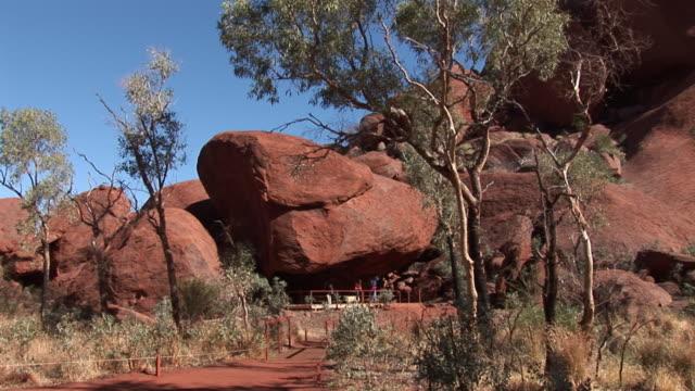 WS Cave at Ayers Rock (Uluru), Uluru-Kata Tjuta National Park, Northern Territory, Australia