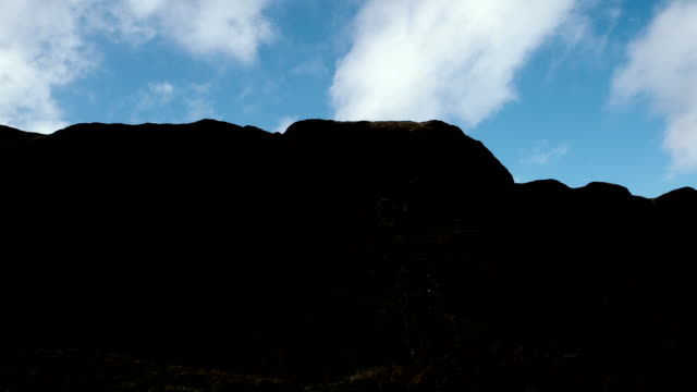 Cave Hill,Northern Ireland by time lapse
