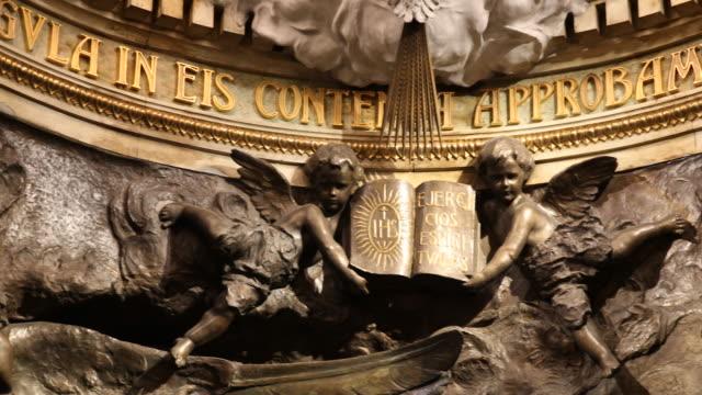 cave of saint ignatius from loyola - 新古典派点の映像素材/bロール