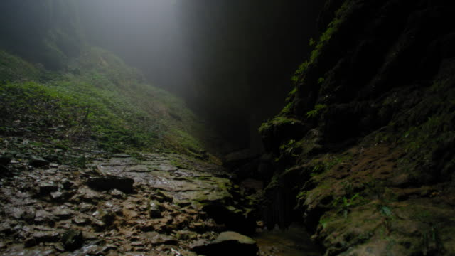 cave river new zealand - new zealand stock videos & royalty-free footage