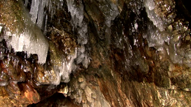 cave - icefall stock videos and b-roll footage