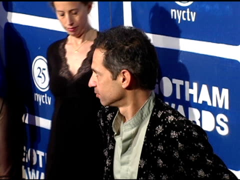caveh zahedi at the ifp's 15th annual gotham awards arrivals at pier 60 at chelsea piers in new york, new york on november 30, 2005. - independent feature project video stock e b–roll