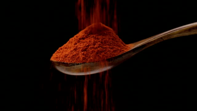 cayenne pepper - ground culinary stock videos & royalty-free footage