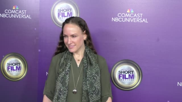 cayman grant at the nbcuniversal short film festival hosted by loni love at directors guild of america in west hollywood in celebrity sightings in... - nbcuniversal stock videos & royalty-free footage