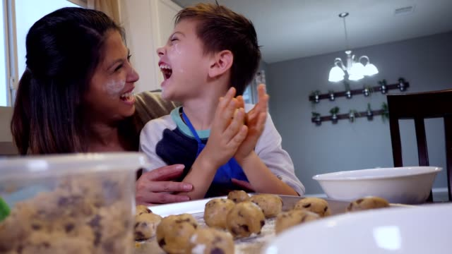 cc-kraft-family1-stillsvideo - dough stock videos & royalty-free footage