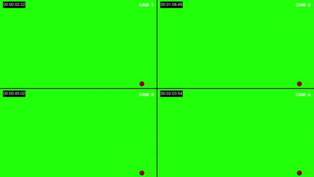 cctv display - telecamera di sorveglianza video stock e b–roll