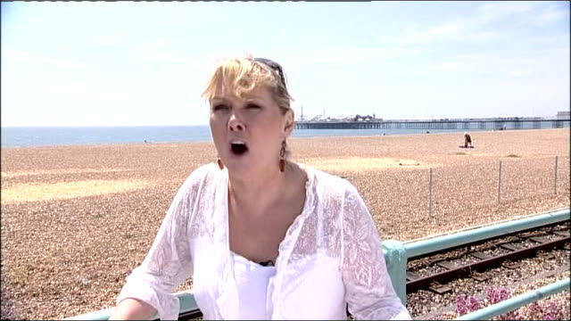 former hospital chief wins 190000 pounds in damages east sussex brighton cheryl baker interview sot kent maidstone reporter to camera tony charlton... - maidstone stock videos and b-roll footage