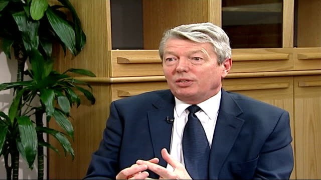 government to announce plans on tackling the superbug england london int alan johnson mp interview sot there's a number of regulators we're bringing... - antibiotic resistant stock videos and b-roll footage