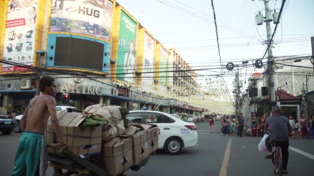 Cebu city street b-roll, Philippines