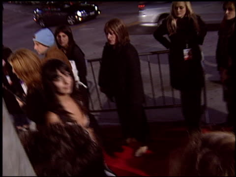 cecilia surarez at the 'spanglish' premiere on december 9 2004 - spanglish stock videos & royalty-free footage