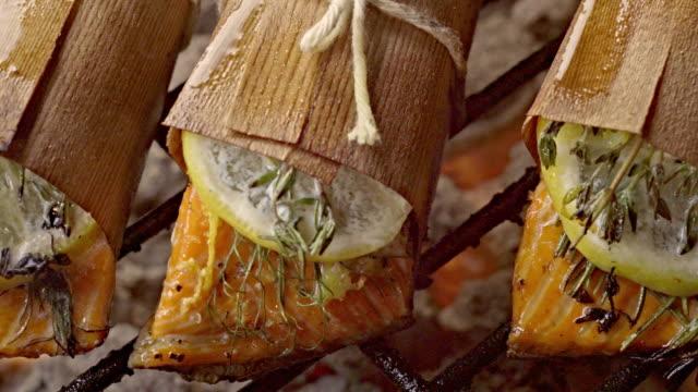 Cedar Plank Salmon with Lemon and Herbs