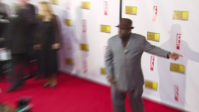 Cedric the Entertainer and guest at the Broadcast Film Critics Association's 2007 Critic's Choice Awards at Santa Monica Civic Auditorium in Santa...