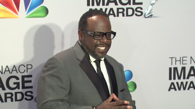 Cedric the Entertainer at 44th NAACP Image Awards Photo Room on 4/12/13 in Los Angeles CA