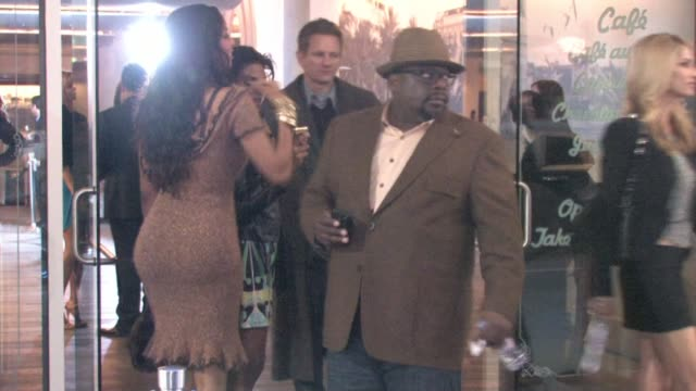 Cedric the Entertainer at Delphine Bar by the W Hotel in Hollywood at the Celebrity Video Sightings in Los Angeles at Los Angeles CA