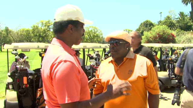 Cedric the Entertainer at the 4th Annual George Lopez Celebrity Golf Classic Benefitting The Lopez Foundation at Pacific Palisades CA