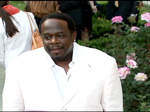 cedric the entertainer at the chrysalis' fifth annual butterfly ball at private residence in bel air, california on june 10, 2006. - chrysalis butterfly ball video stock e b–roll