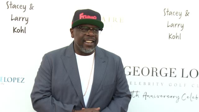 Cedric The Entertainer at the George Lopez Foundation 10th Anniversary Celebration Party at Baltaire on April 30 2017 in Los Angeles California