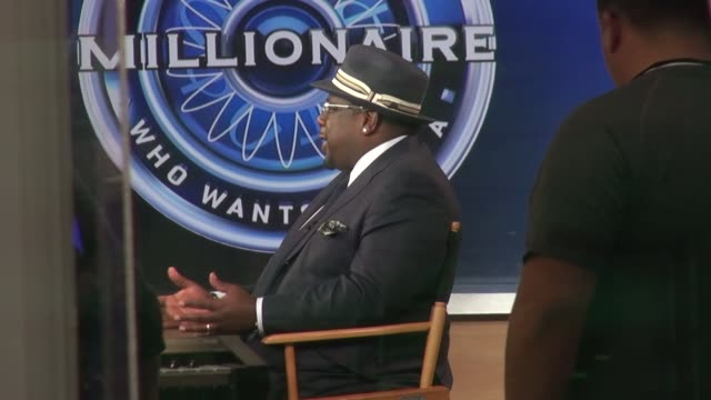 Cedric the Entertainer at the 'Good Morning America' studio in New York NY on 9/3/13