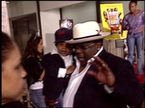 Cedric The Entertainer at the Johnson Family Vacation at the Cinerama Dome at ArcLight Cinemas in Hollywood California on March 31 2004