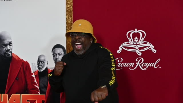 Cedric the Entertainer at the Shaft New York Premiere at AMC Lincoln Square Theater on June 10 2019 in New York City
