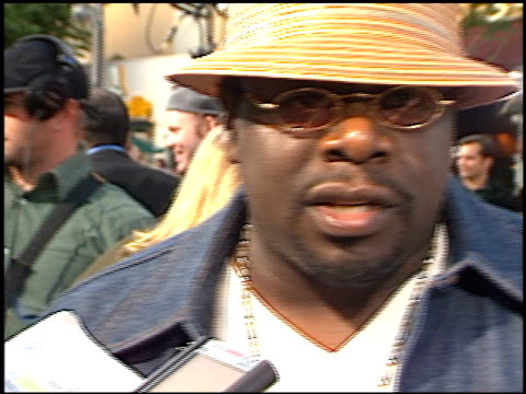 Cedric The Entertainer at the Swordfish Premiere on June 4 2001