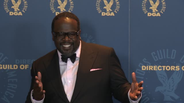 Cedric the Entertainer Cedric Antonio Kyles at 65th Annual Directors Guild Of America Awards Press Room 2/2/2013 in Hollywood CA