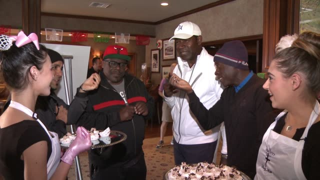 Cedric the Entertainer Dennis Haysbert Don Cheadle at The 8th Annual George Lopez Celebrity Golf Classic Presented by Sabra Salsa in Los Angeles CA
