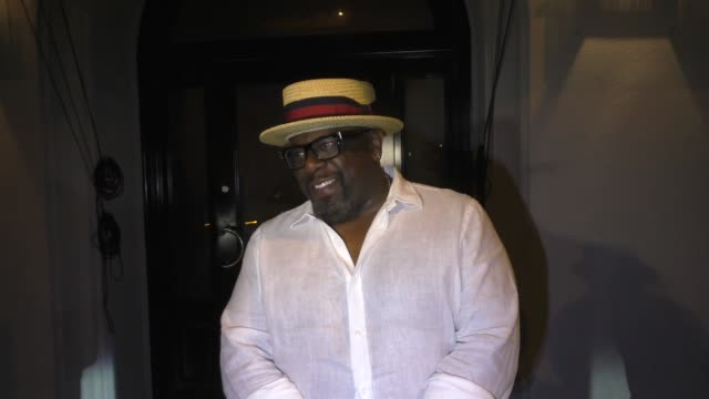 INTERVIEW Cedric The Entertainer jokes about Omarosa President Trump Melania after dinner at Craig's in West Hollywood in Celebrity Sightings in Los...