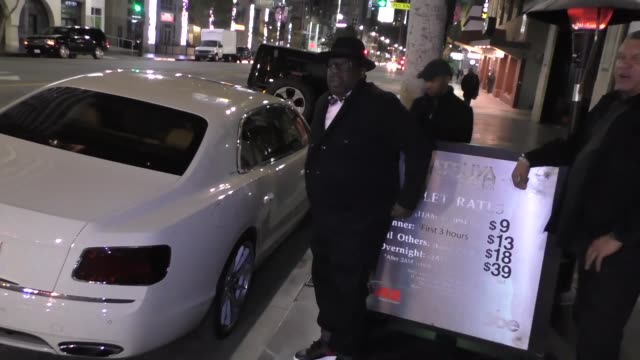 Cedric the Entertainer leaves Katsuya Restaurant in Hollywood at Celebrity Sightings in Los Angeles on May 25 2016 in Los Angeles California
