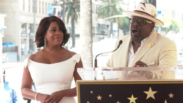 INTERVIEW Cedric the Entertainer on all that Nacy has accomplished at the Niecy Nash Honored with a Star on the Hollywood Walk of Fame on July 11...