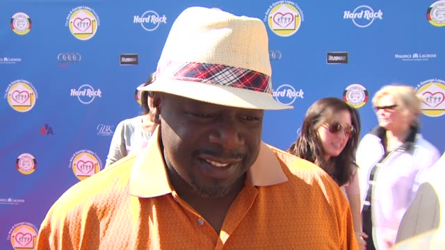 Cedric the Entertainer on being a part of the event what he appreciates about George Lopez's philanthropic efforts the organization's mission and if...