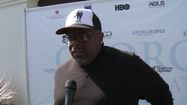 INTERVIEW Cedric the Entertainer on why he comes out every year to support George Lopez and his foundation on why so many rally around this cause and...