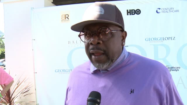 INTERVIEW Cedric The Entertainer on why he loves being here on being involved on his golf game at the 10th Annual George Lopez Foundation Celebrity...
