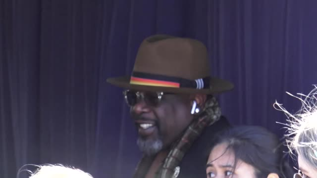 Cedric the Entertainer outside the Film Independent Spirit Awards at Santa Monica Pier at Celebrity Sightings in Los Angeles on February 23 2019 in...