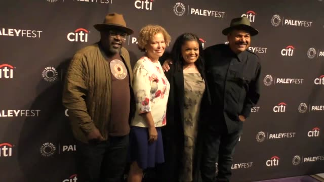 Cedric the Entertainer Valorie Hubbard Yvette Nicole Brown and George Lopez at The PaleyFest 2017 Preview of 'The Comedy Get Down' at The Paley...