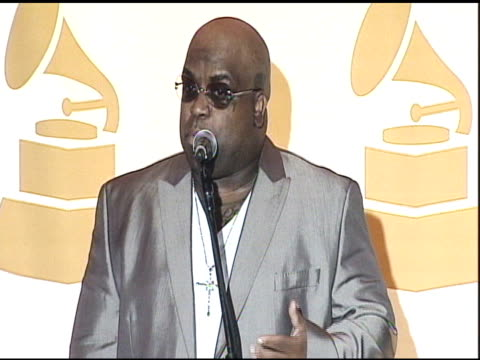 cee lo green at nokia theatre la live on december 01 2010 in los angeles california - audio electronics stock videos & royalty-free footage