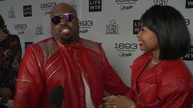 INTERVIEW CeeLo Green at LIFEWTR Art After Dark on February 03 2017 in Houston Texas