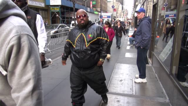 CeeLo Green at the 'TODAY' show studio in New York NY on 3/12/2012