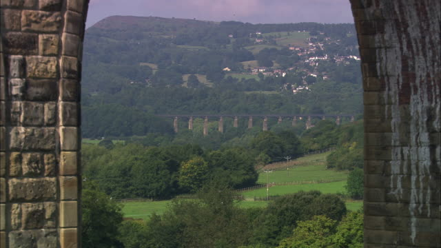 cefn viaduct - wales stock videos & royalty-free footage