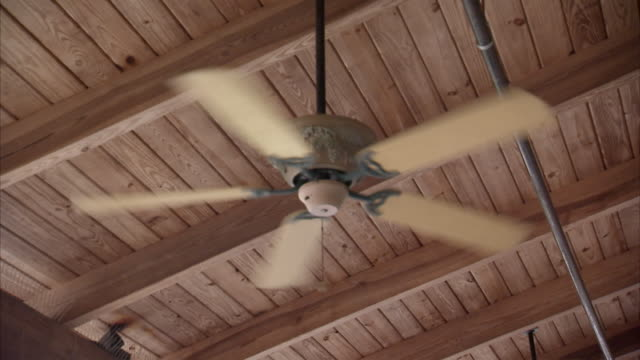 Old fashioned ceiling fans videos and b roll footage getty images ms ceiling fan spinning usa aloadofball Gallery