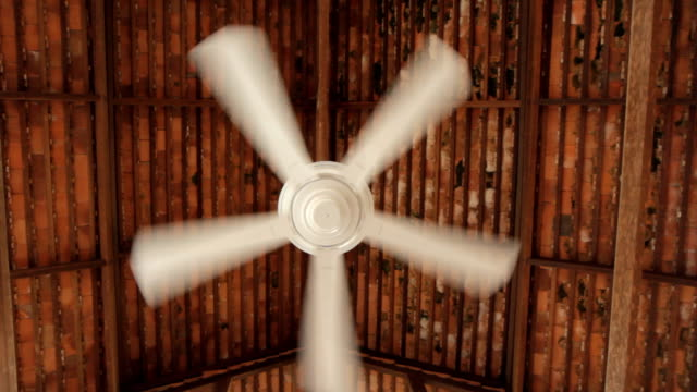 ceiling fan - machinery stock videos & royalty-free footage