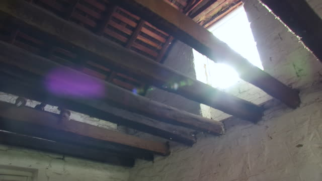 ceiling of an old ranch house - ranch house stock videos & royalty-free footage