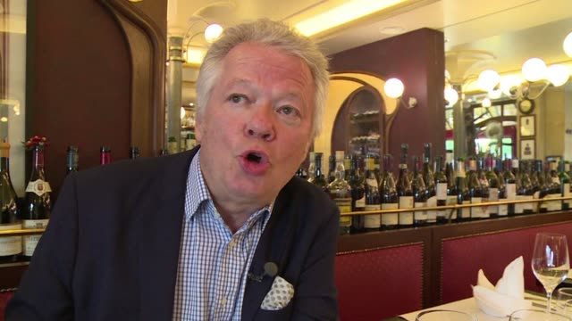 celebrated french food critic gilles pudlowski describes anthony bourdain as a kitchen crooner and a magical person who left the world a little too... - critic stock videos & royalty-free footage