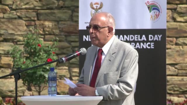 Celebrated South African antiapartheid activist Ahmed Kathrada a Robben Island prisoner and one of Nelson Mandela's closest colleagues in the...