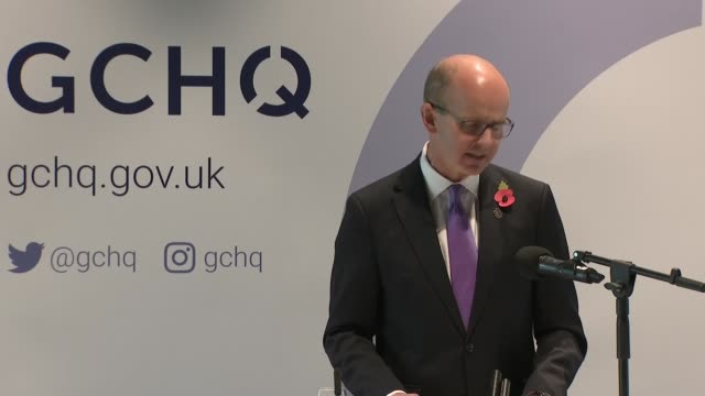 celebrates its 100th birthday; england: staffordshire: national memorial arboretum: int jeremy fleming speech sot part 3 of 3 - national memorial arboretum stock videos & royalty-free footage