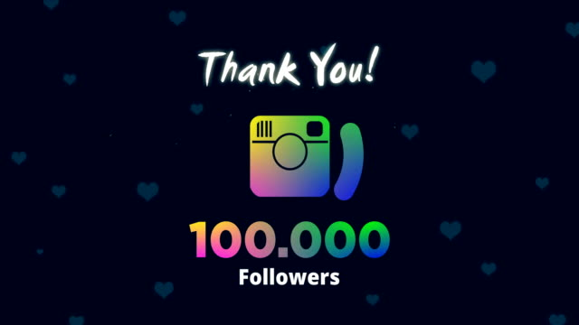 firar 100k följare - följa rörlig aktivitet bildbanksvideor och videomaterial från bakom kulisserna