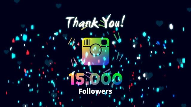 celebrating 15k followers - social media followers stock videos & royalty-free footage
