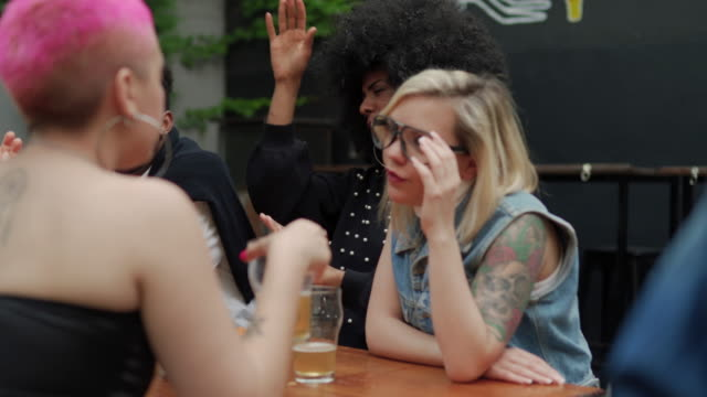 celebrating friendship - hipster culture stock videos & royalty-free footage